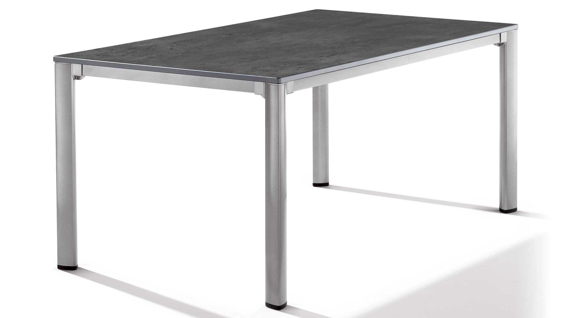 Sieger Exclusiv Puroplan Loft Tisch Gartentisch 1780 51, Gestell
