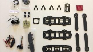 workshop construction de drone