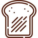 moe coffee toast icon