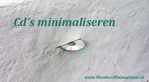 cd's minimaliseren