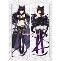 Rwby Dakimakura Black Trailer Blake Belladonna Body Pillow ...