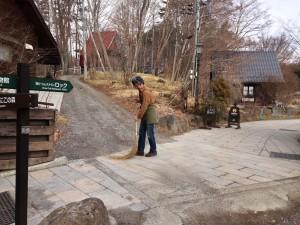 3月20日掃除の様子