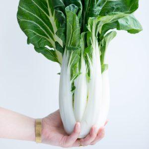 Kinderen groente laten eten