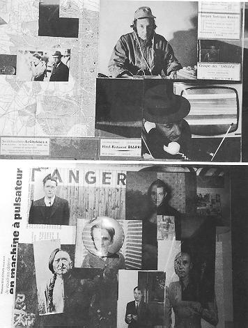 Photo Cut-Up von Burroughs