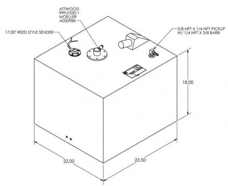31 Gallon EPA Redi Tank