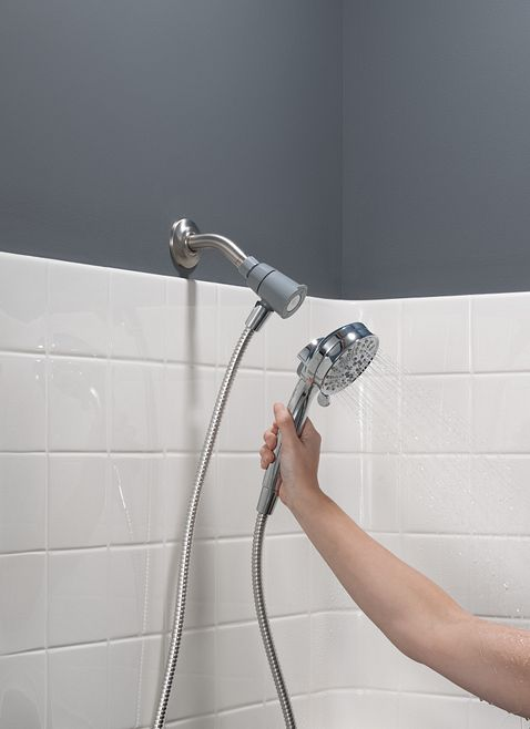 moen kitchen faucet installation wood tile attract chrome with magnetix handheld shower - 26000