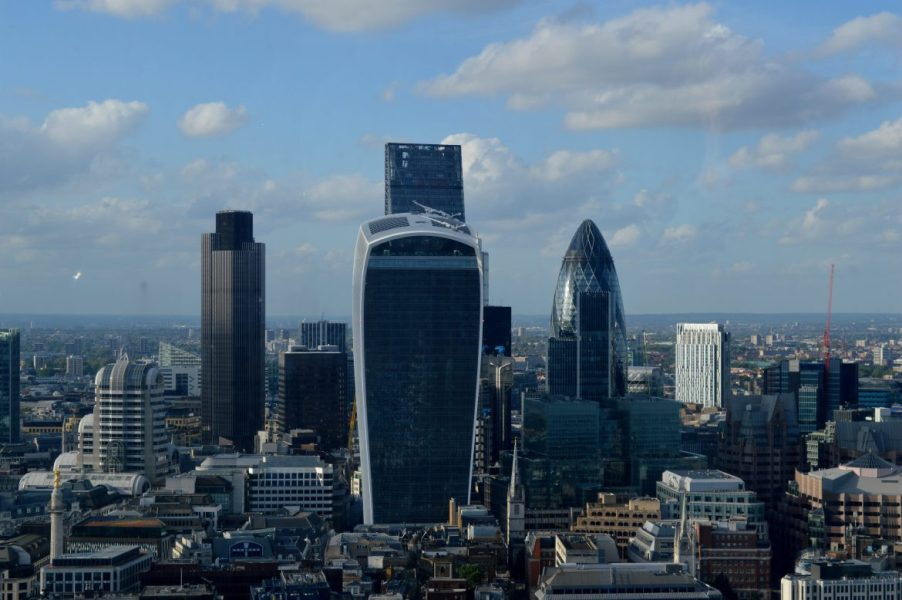 20 Fenchurch Street, also know as the Walkie-Talkie