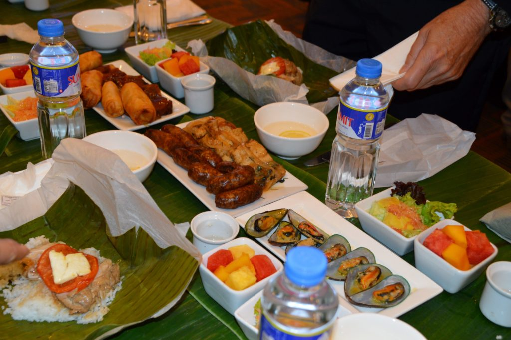 Traditional Boodle Fight