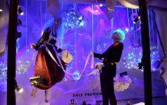 Harvey Nichols Holiday Display in London
