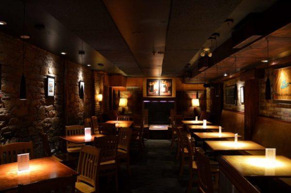 Dining area at C'est What Restaurant in Toronto