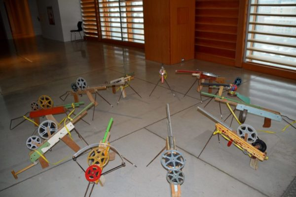Francis Alys' reels exhibit