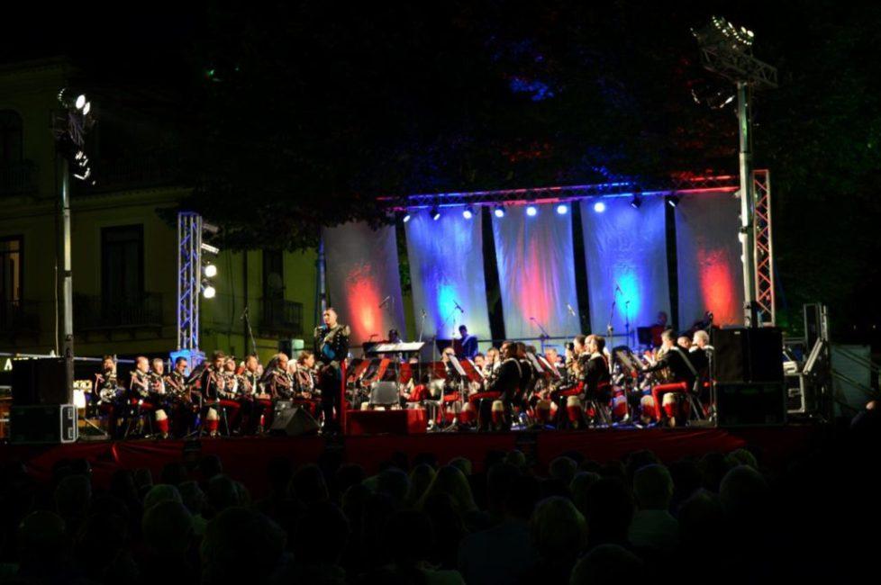 Open Air concert in Sorrento
