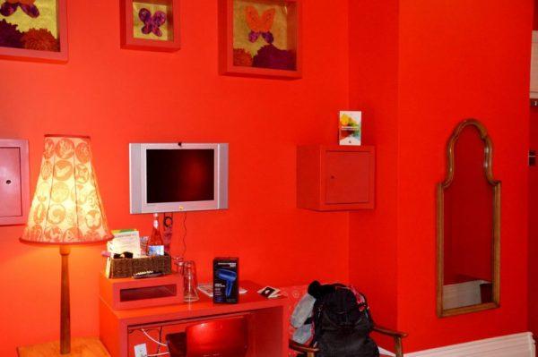 Room 303 Red Room Gladstone Hotel Toronto