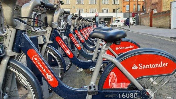 Santander Bikes Fulham