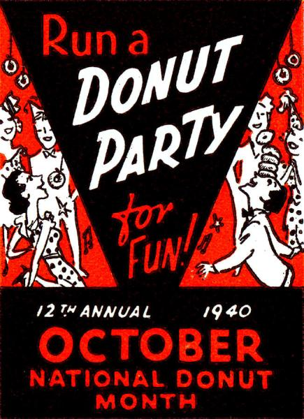 1940 Donut Month