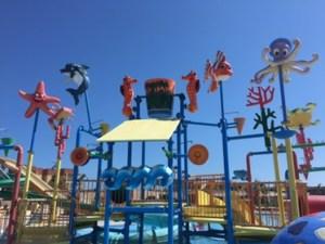 Kinder-Wasserspielplatz