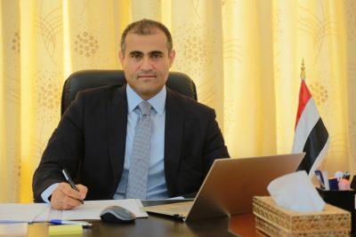 نائب وزير الخارجية يؤكد ضرورة انسحاب المجاميع المسلحة التابعة للمجلس الانتقالي من المواقع التي استولوا