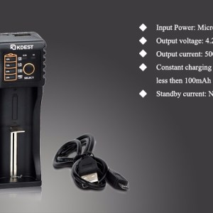 Kdest KC1 Smart USB Charger - 1 Slot