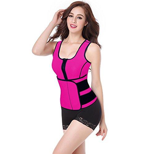 9ba44b1af1 Home   Women   Work Out Suit   Neoprene Sauna Waist Trainer Vest Workout