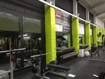 Gym Fitness Center Paint