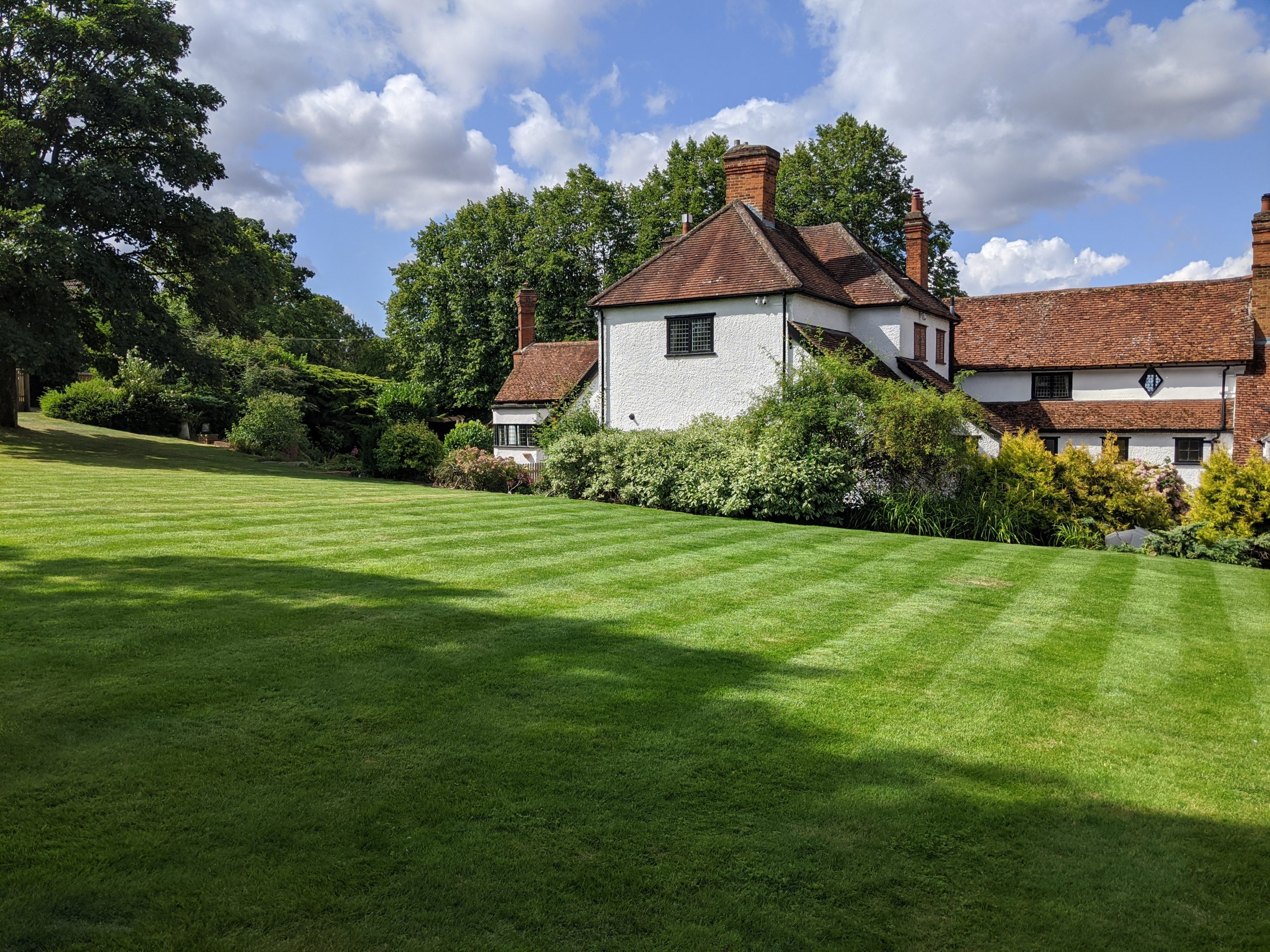 Lawn Cutting Mower and Gardener Great Dunmow