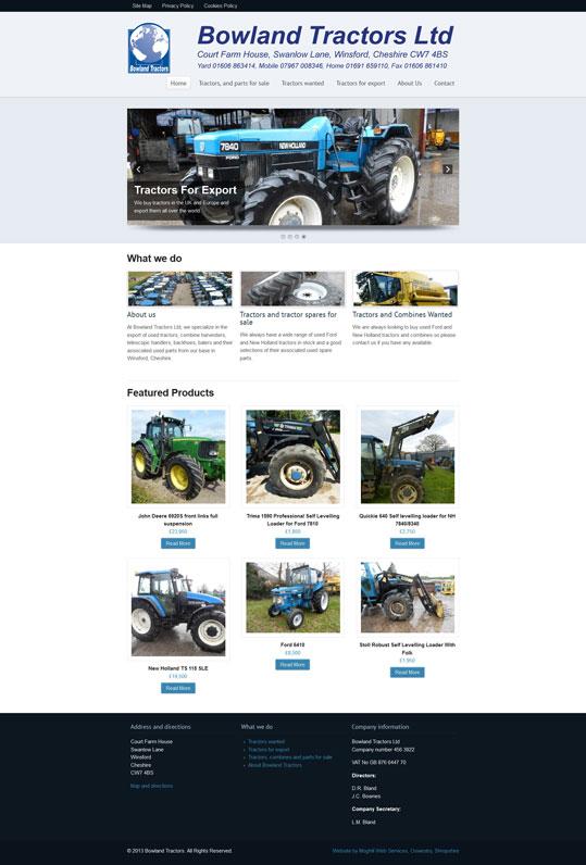 Bowland Tractors Ltd