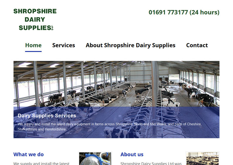 Shropshire Dairy Supplies
