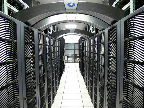 data centre photo