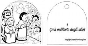 La via crucis per bambini da stampare