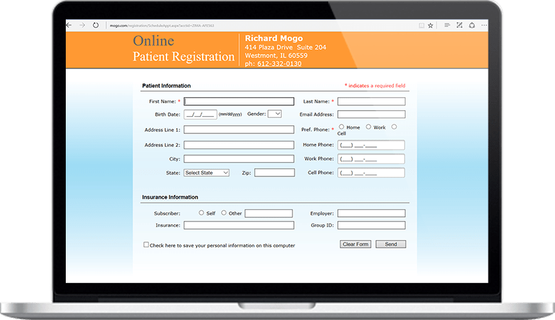 Dental Practice Management Software Online Appointment Request Feature