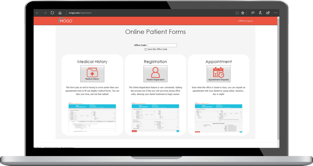 Cloud-Based Dental Practice Management Software Online Patient Forms
