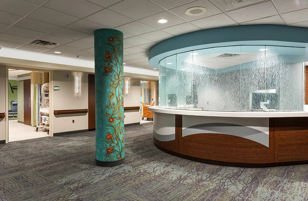 The Construction And Development History Of A Hospital Healthcare Interior Design Minneapolis Lakeview Hospital