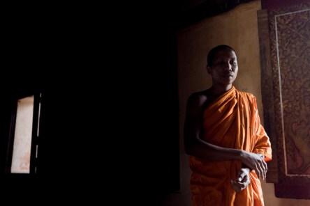 Buddhist monk in Siem Reap.