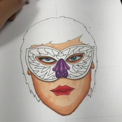 continue with the mask