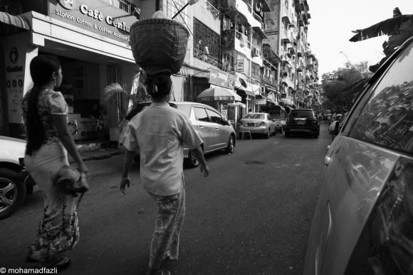 Streets of Yangon