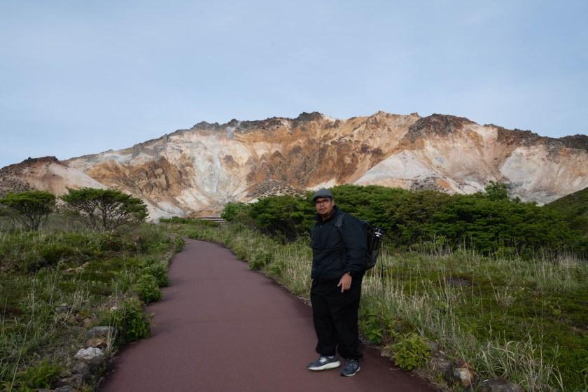 That's Mount Esan