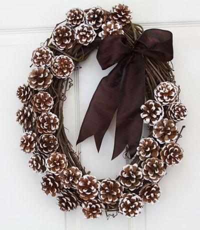 Winter Wreaths - DIY winter wreath ideas - crafts -