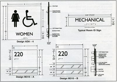 the american disabilities act specifications
