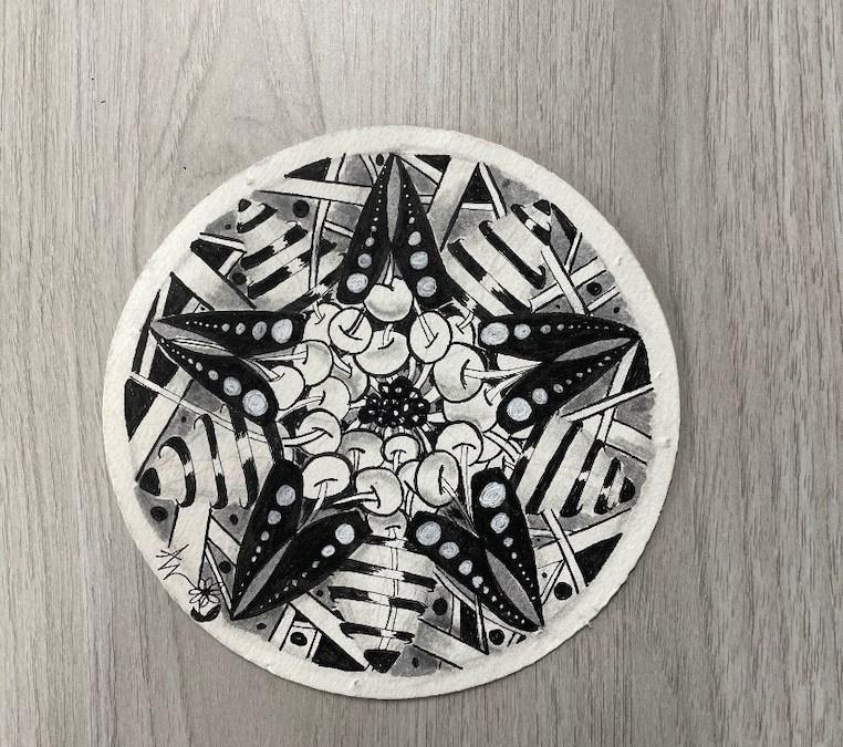 Zentangle Class: Zendala Tiles