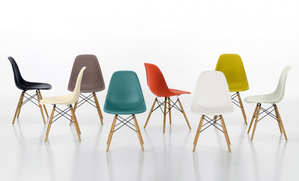 Eames Plastic Chair di Vitra  Sedie  Poltroncine  Arredamento  Mollura Home Design
