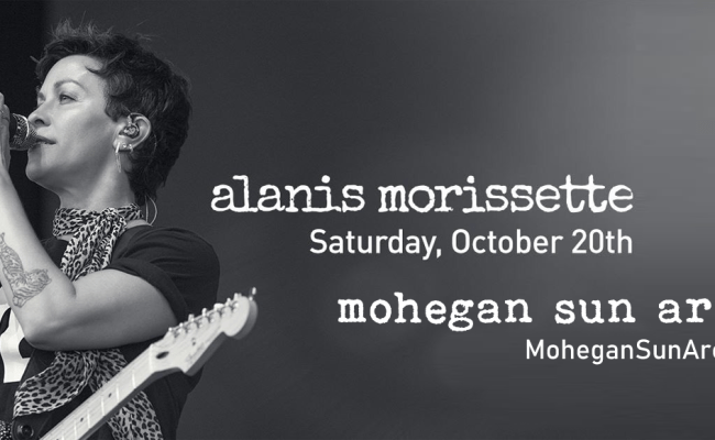 Alanis Morissette Tickets 20th October Mohegan Sun