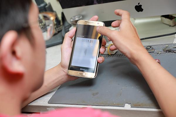 三星手機維修 s7 edge換電池新竹 新竹三星手機維修 - 膜幻鎂機新竹iphone維修、現場包膜、免卡分期