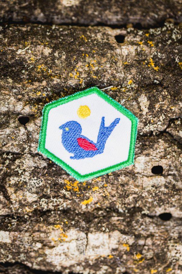 Insignia Asim. Especialidad tropa Ornitologo