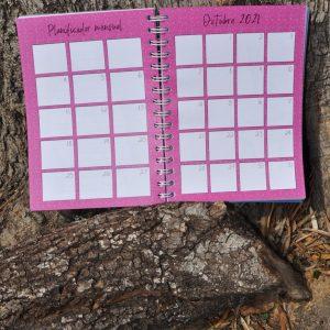 Agenda plan mensual