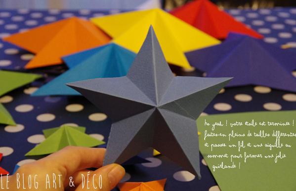 DIY Des toiles en origami