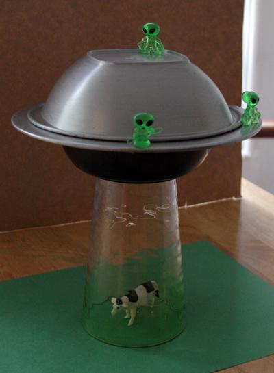 DIY Une lampe soucoupe volante