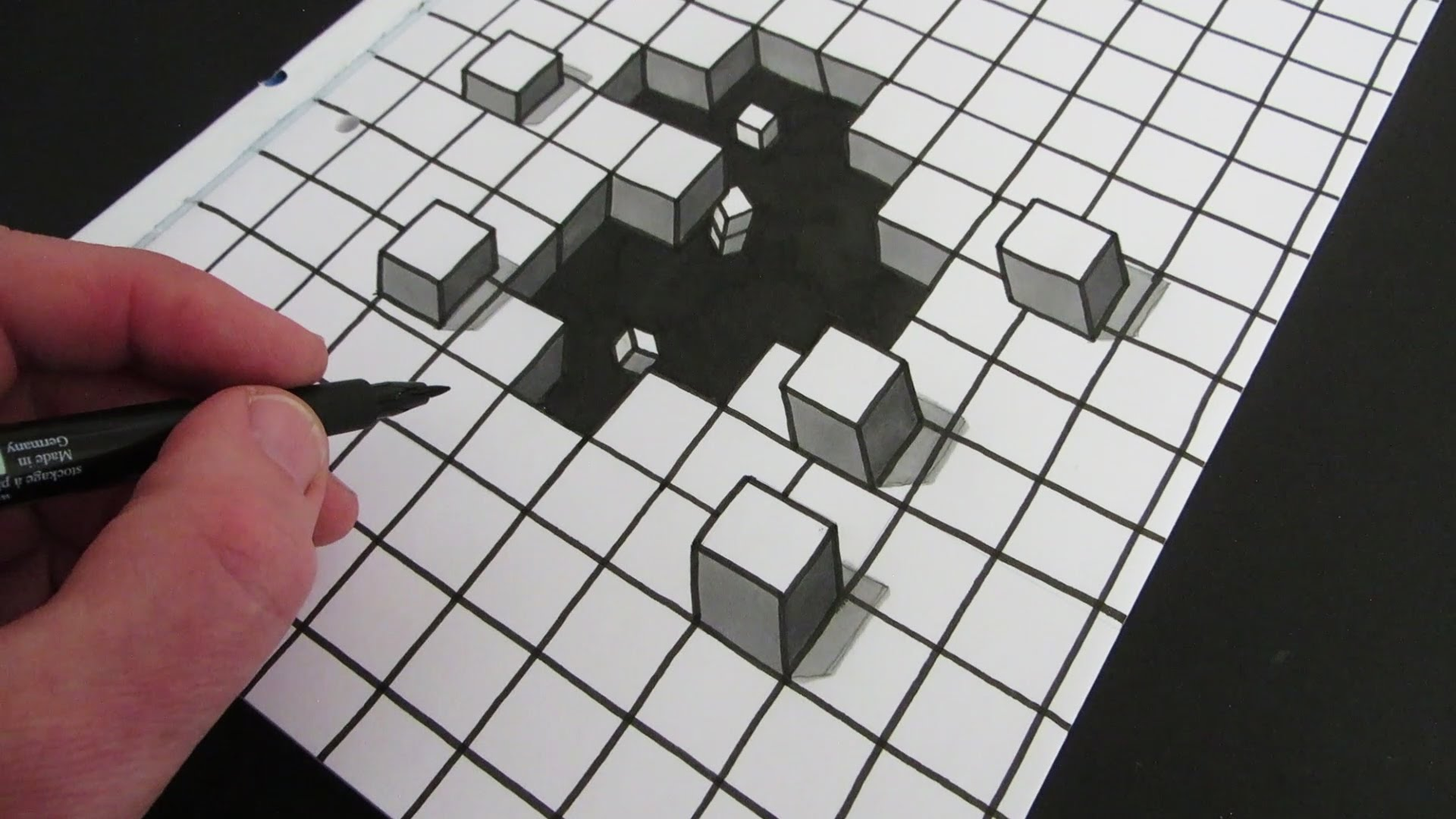 The 10 Best Optical Illusions from Circle Line Art School plus how to draw them! I hope you have a go at drawing some of these simple and complex optical illusions