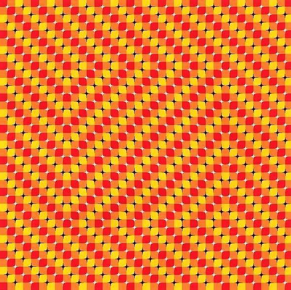 Hyperfield Optical Illusion