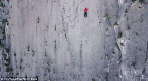 Alex Honnold klättrar El Toro solo, utan rep