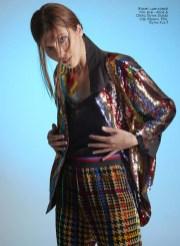 Blazer, top, all - Alice & Olivia, Studio Ozz boutique; Trousers, Etro, KUL-T boutique